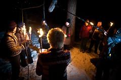 Pagans on TV 2 (Lars Leganger) Tags: winter snow vinter mythology snø sn nrk norse kalvøya blot kalv sn¿ kalv¿ya d300s satru åsatru vinterblot blót annekathærland
