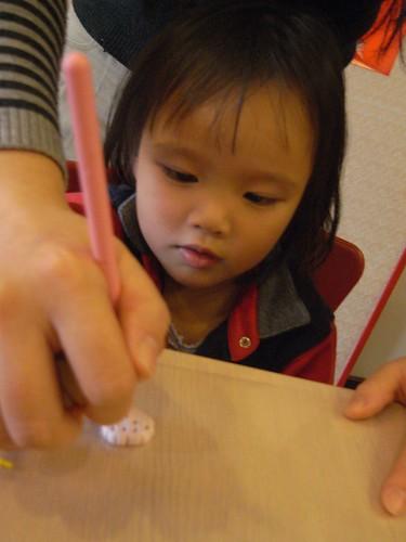 katharine娃娃 拍攝的 5餅乾造形。