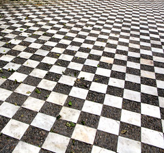 Chess board (Micheo) Tags: 3d squares juegos chess angles games ok ajedrez experimentos angulos geometra cuadrados geommetry micheo cosassencillas