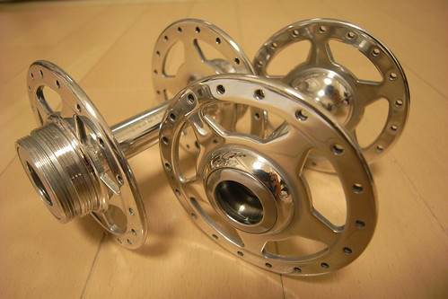 polished SUNSHINE BIA hub set