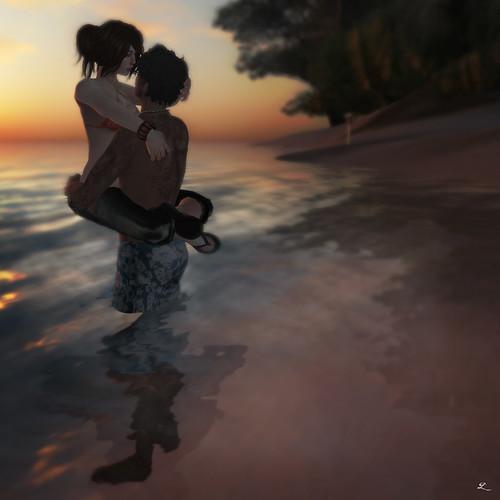 *.:StoRin:. - Couple's PoseBalls: Passionate Kiss