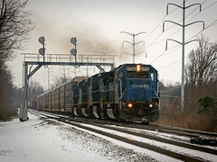 Big Blue (bogray) Tags: train lexington ky engine locomotive norfolksouthern 6716 exconrail emdsd60 rosemontgarden