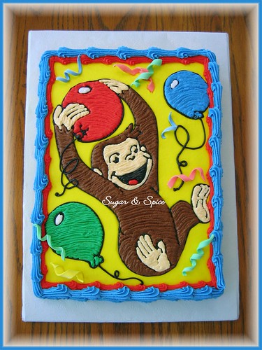 Phenomenal Curious George Birthday A Photo On Flickriver Funny Birthday Cards Online Sheoxdamsfinfo