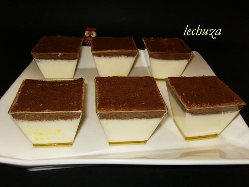 Pirámides de yogur y choco-listos