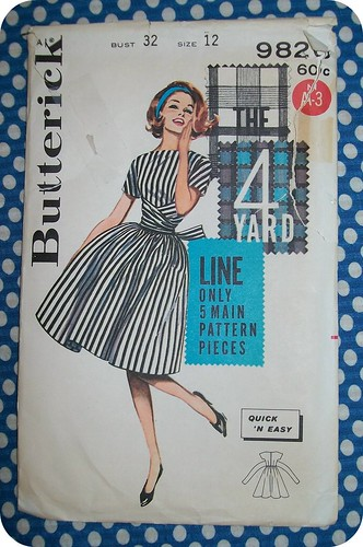 Butterick 9826 Pattern
