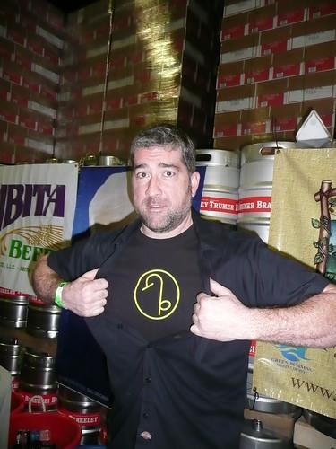Mild-mannered Christian Kazakoff becoming Super Brewer