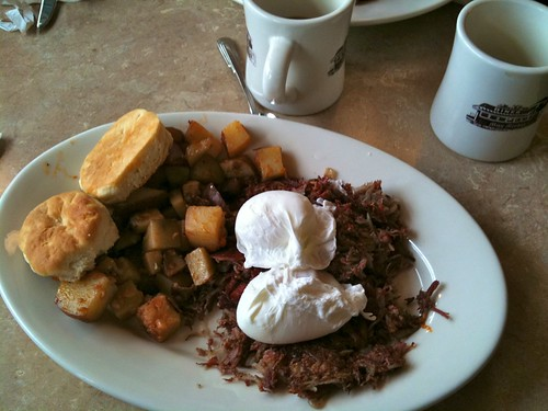 Miss Mendon Diner - Hash & Eggs