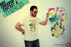 Art Creates new things! (Elvis Benício) Tags: art tshirts camisa