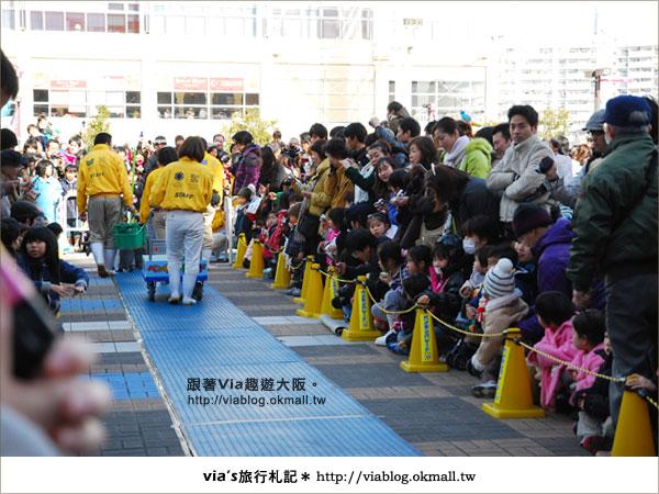 【via關西冬遊記】大阪海遊館~冬季限定!無敵可愛企鵝遊行來囉!22