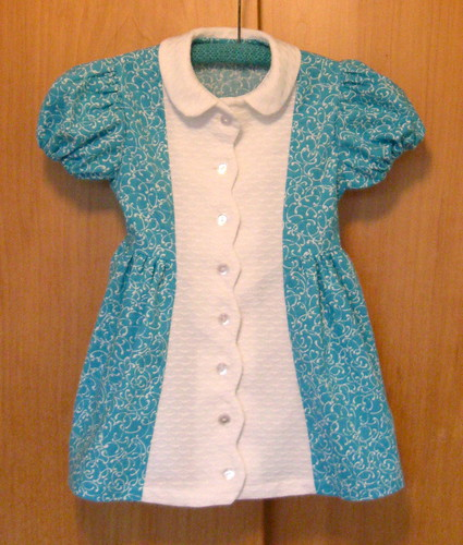 Vintage Childs Dress front