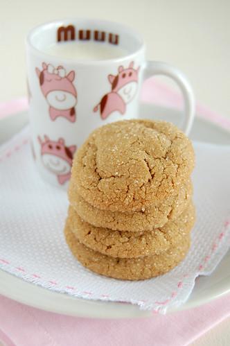 Peanut butter cookies / Cookies de manteiga de amendoim