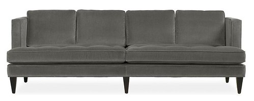 Grey Double Cushion Hutton Sofa - Room and Board
