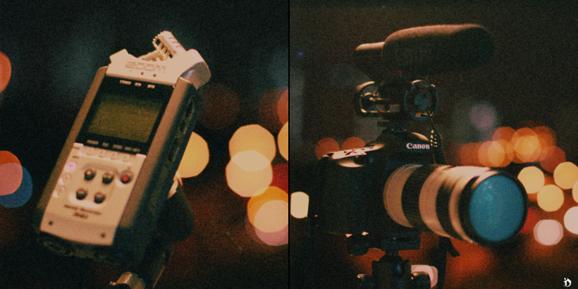 Robe VideoMic & Zoom H4N