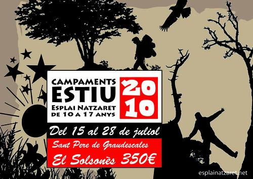 Cartell campaments 2010