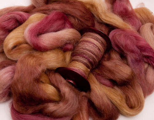 Bee Mice Elf alpaca/silk in Secluded