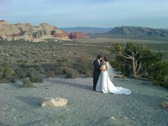Andy and Miranda in Red Rock Mountains