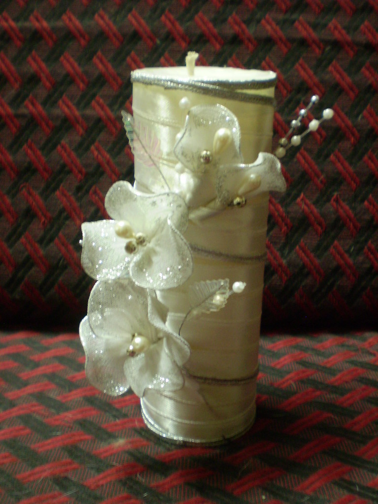 Decorated candle (Confirmation Day)