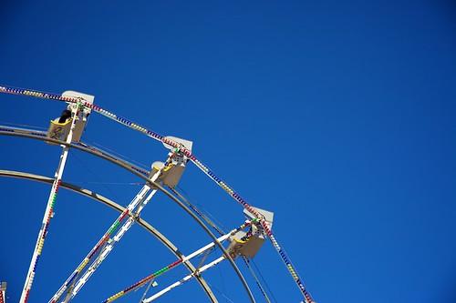 sky wheel keeps on turning