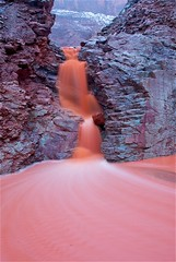 Utah Rainstorm (girltwin) Tags: red orange mountain southwest nature river landscape utah spring nikon raw tripod springbreak moab d200 slowshutterspeed naturesfinest girltwin vosplusbellesphotos