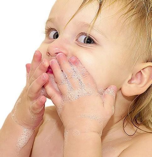 linda foto de um bebe
