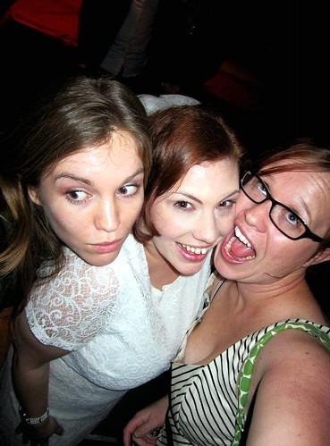 Colette, Lisa, me