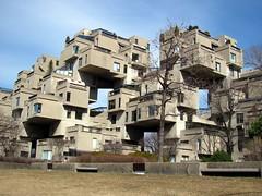 People live here? (zJMac) Tags: view quebec montreal condo cube block habitat condominium gaps cubic zjmac