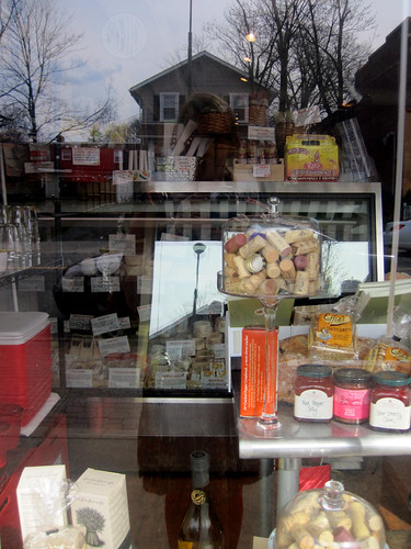 me in a window with cheese