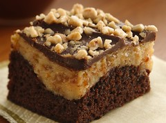 Peanut Butter-Toffee Cheesecake Brownies (Pillsbury.com) Tags: food cake recipe dessert baking eagle sweet treats contest peanuts fudge cheesecake whippedcream hersheys westvirginia heath sweets brownie treat creamcheese toffee peanutbutter bake jif brownies frosting parkersburgwv pillsbury vegetableoil crisco chocolatechips whippingcream finalist milkchocolate whippedtopping bakeoff chococlate chocolatefudgebrownie sweettreats chocolatefrosting egglandsbest creamypeanutbutter eaglebrand pamelashank peanutbuttertoffeecheesecakebrownies