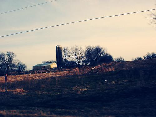 tall like a silo