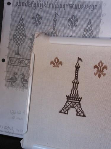 Paris Sampler WIP