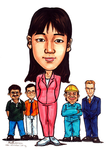 Caricature for Ministry of Manpower - 14
