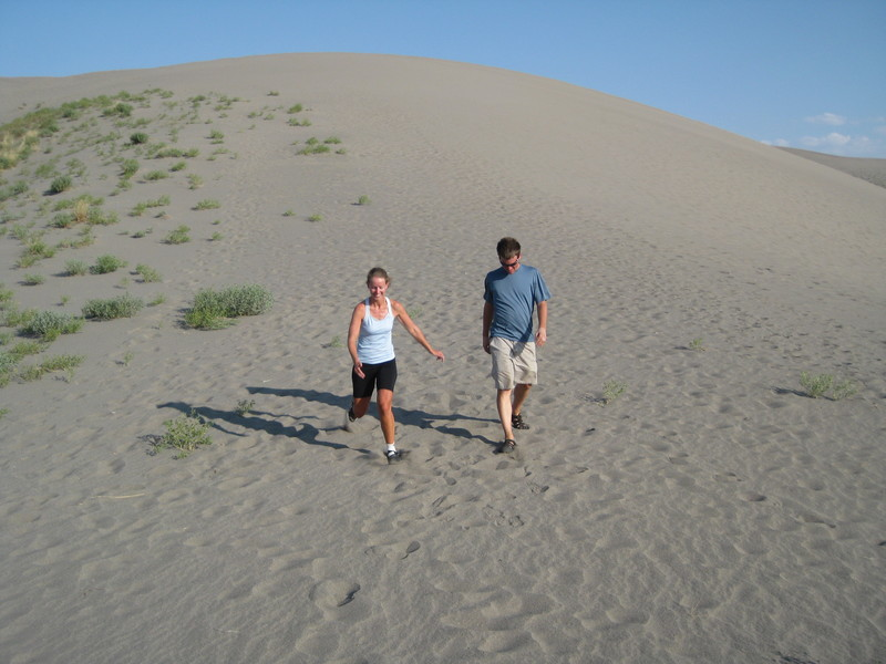 Running Down the Dunes