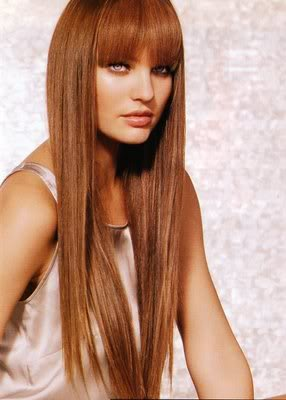 Fringe with Long Hair