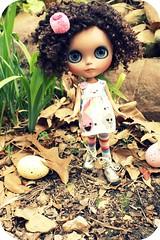 Nola goes on an easter egg hunt
