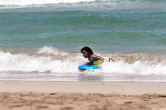 Riding it In (Mark Griffith) Tags: hawaii springbreak kauai sofigriffith hanalei boogieboarding hanaleibay kauai2010 20100406dsc0104hanaleihanaleibayhawaiikauaispringbreak