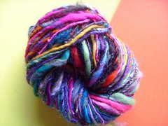 random 3 (3) (rosie.ok) Tags: wool rainbow warm handmade spin craft yarn spinning wooly artisan crafting handspun spun