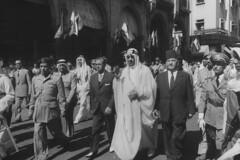 Sami Solh;Saud Ibn Abdul Aziz [RF: Saudi Arabia RF] (K_Saud) Tags: lebanon during king visit east jordan saudi arabia middle foreign abdul rf aziz sami ibn relations saud timeincown solh 933077