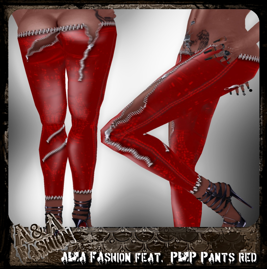 A&A FAshion feat. P&P Pants red