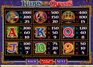 free Kings and Queens slot mini symbol