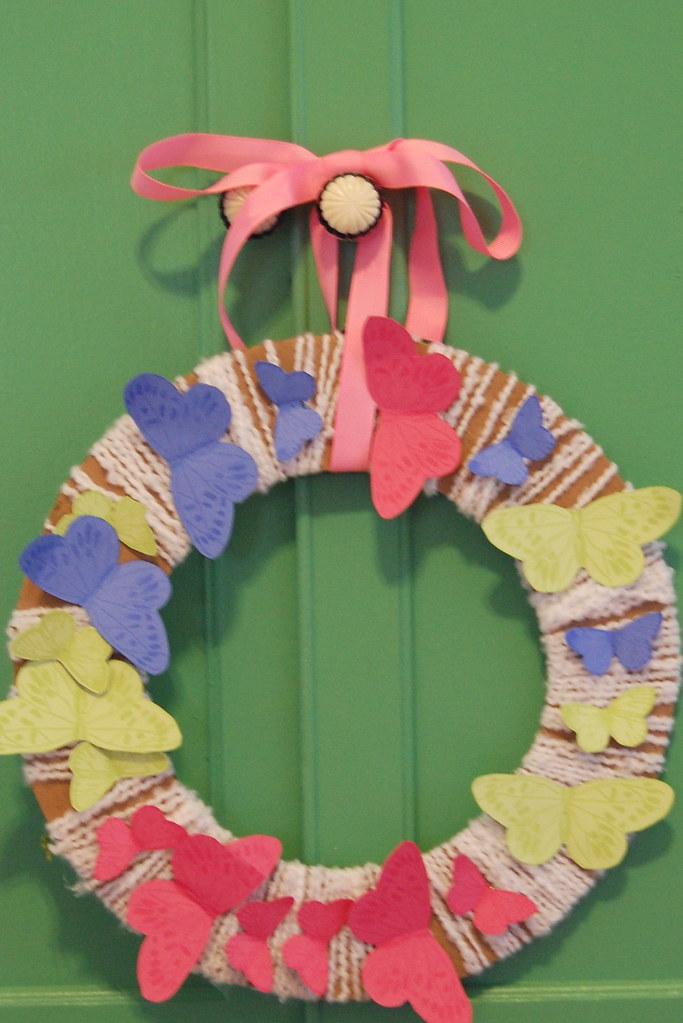 big sister's wreath