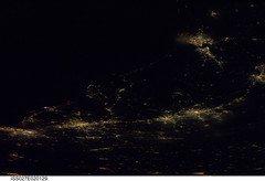 Atlantic Seaboard 'Megalopolis' at Night (NASA, International Space Station, 04/06/11) (NASA's Marshall Space Flight Center) Tags: newyork philadelphia boston virginia washingtondc pennsylvania massachusetts norfolk maryland richmond nasa atlanticocean baltmore megalopolis internationalspacestation stationscience crewearthobservation stationresearch atlanticseaboardconurbation iss027e20129