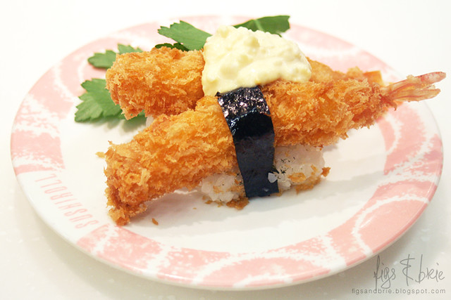 Fried Prawn Nigiri, Sushi Roll