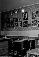 170218 - Saturday Dinette (mishlove1) Tags: 50mm18 bw blackandwhite canada downtown downtowntoronto film filmcamera kodak kodaktrix400 kodal400tx michaelishlove minolta ontario outandabout toronto