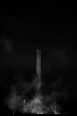 207/365 (alex bo.) Tags: night nikon nikond90 noiretblanc noir dark bw blackandwhite monochrome nantes light smoke nuit cityscape urban beghinsay