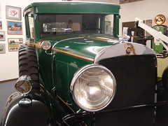 green tow truck