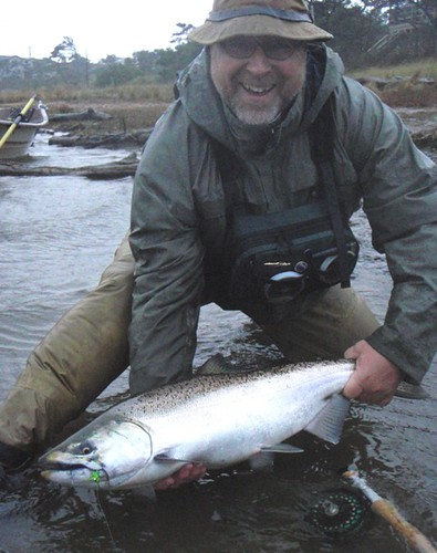 Rob Russell Chinook on the fly