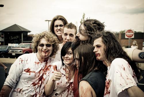 Zombies atacando a Jesús