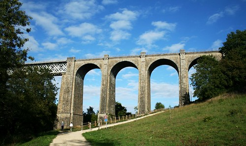 Parthenay viaduct 1886
