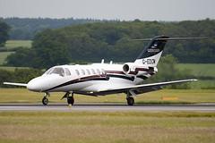 G-EDCM - 525A-0213 - Air Charter Scotland - Cessna 525A Citation CJ2 - Luton - 090617 - Steven Gray - IMG_4436