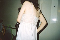 i fell off a stool (Adele M. Reed) Tags: girl 35mm bedtime weekends graze nightdress nikonl35 luckysuper